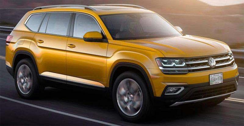 Volkswagen готовится выпустить на рынке в России свой новый кроссовер Teramont американской сборки