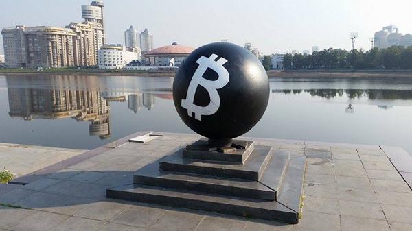 Первый в мире памятник биткоину – в Словении