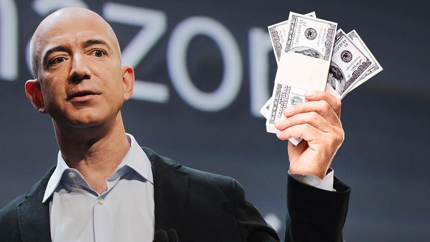 Глава Amazon – самый богатый человек мира