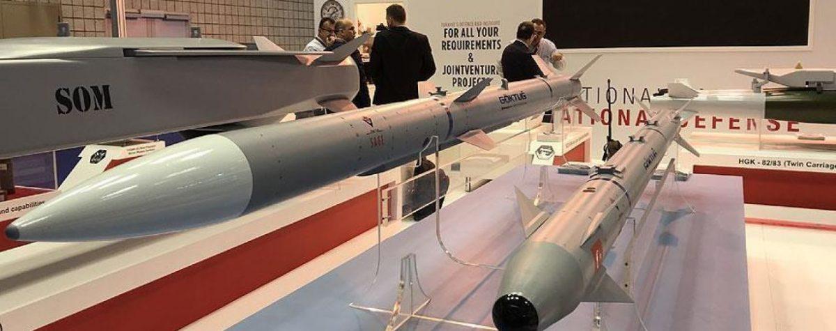 В Турции провели испытание  баллистических ракет