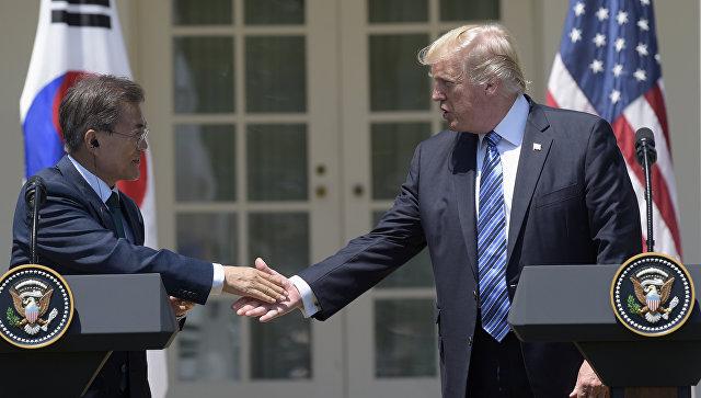 Торговое соглашение между США и Южной Кореей