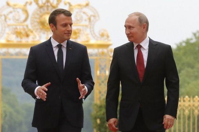 Президент Франции в Петербурге