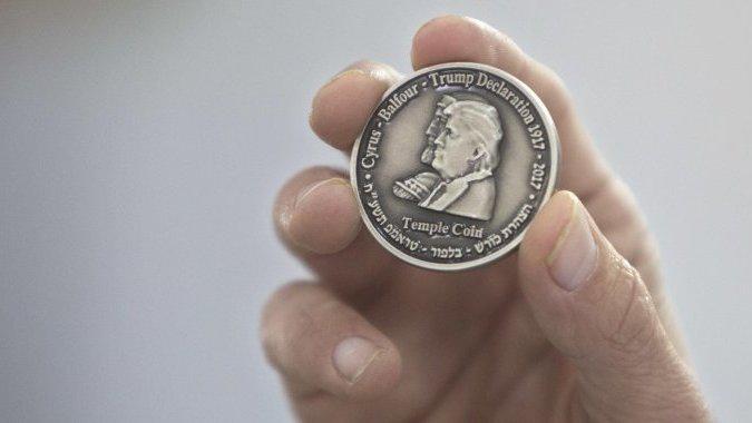 Монеты с профилем Трампа: небывалый спрос