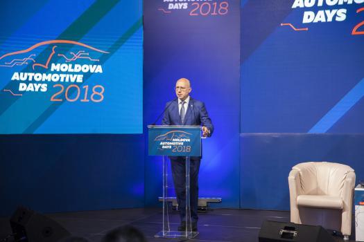 Премьер Филип принял участие в открытии «Moldova Automotive Days 2018»