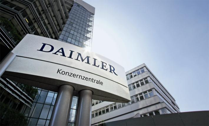 """Daimler обязывают отозвать почти 800 тысяч автомобилей в Европе из-за """"дизельного скандала"""""""