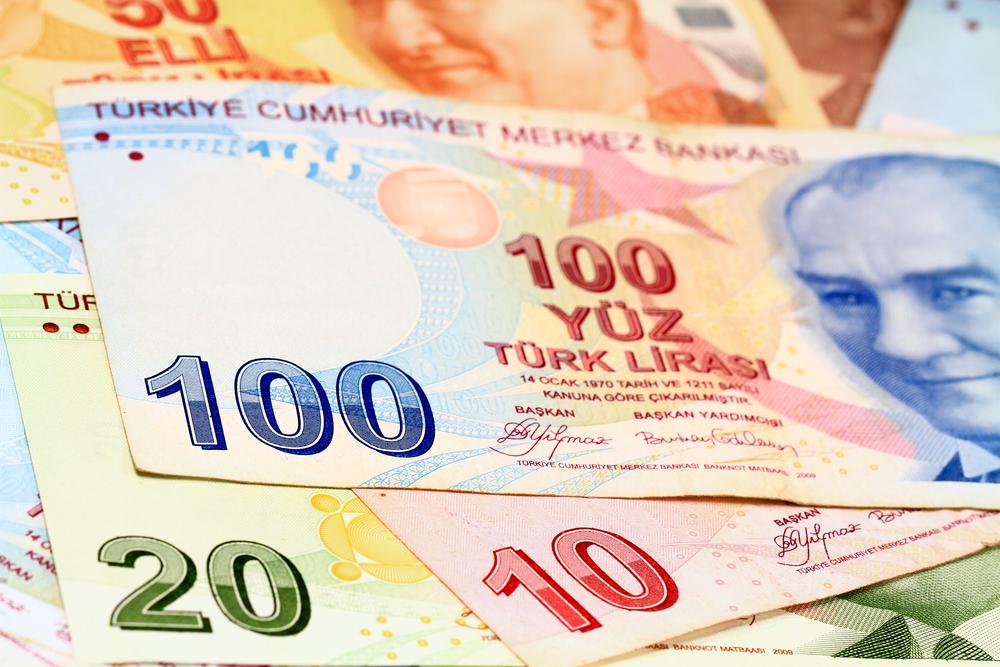Турецкая лира выросла к доллару США, российский рубль продолжил снижение курса