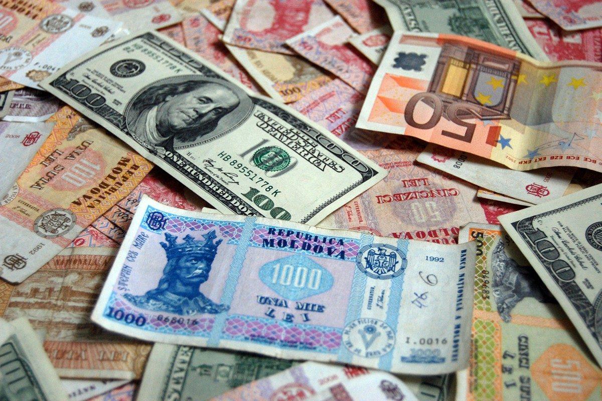 Молдавский лей обесценился по отношению к доллару