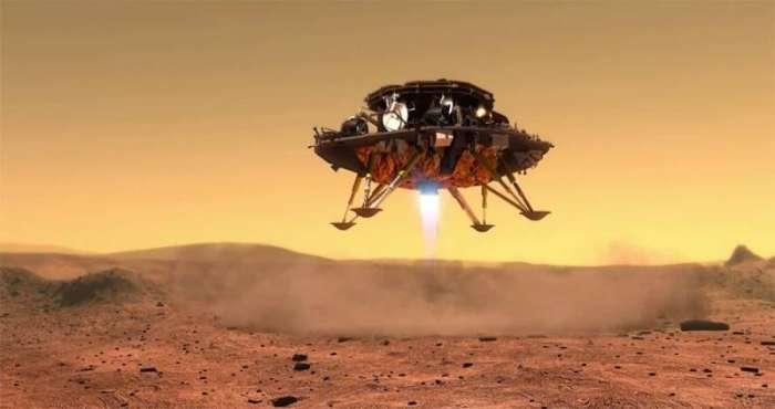 Польский Крет совершил успешную посадку на Марс