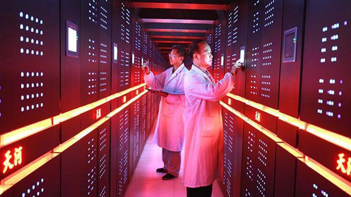 Китай переходит на собственное компьютерное оборудование