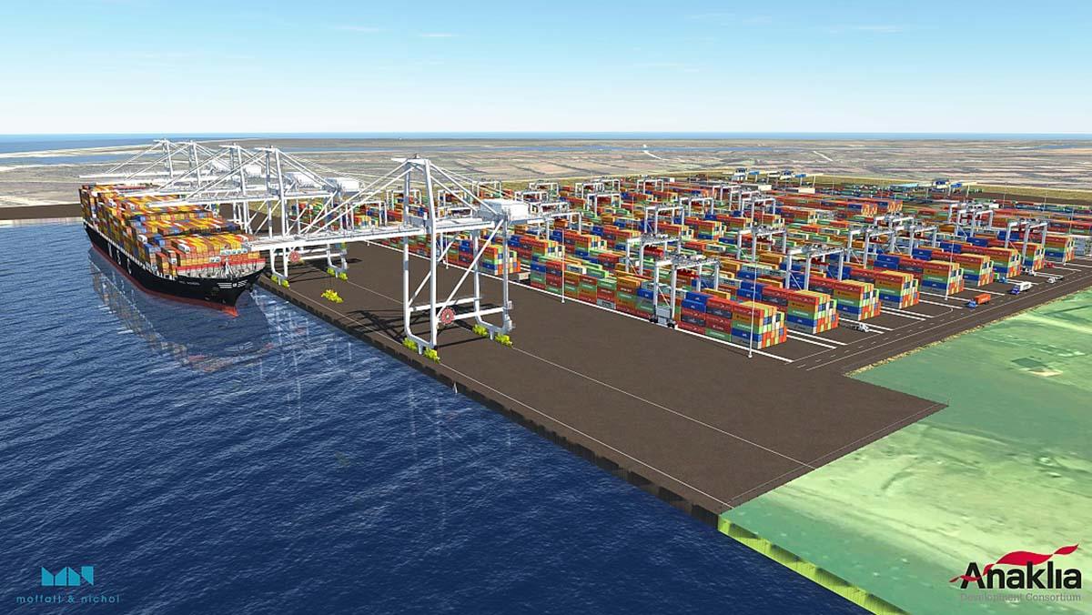Грузинский порт остался на бумаге