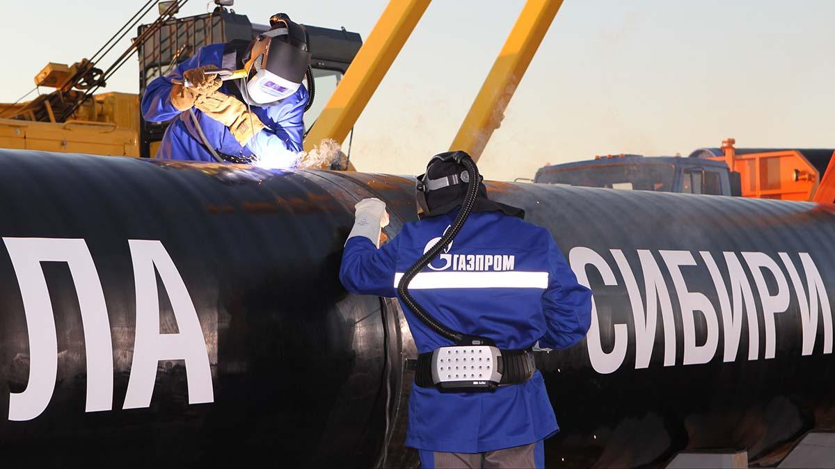«Газпром» остановил «Силу Сибири»