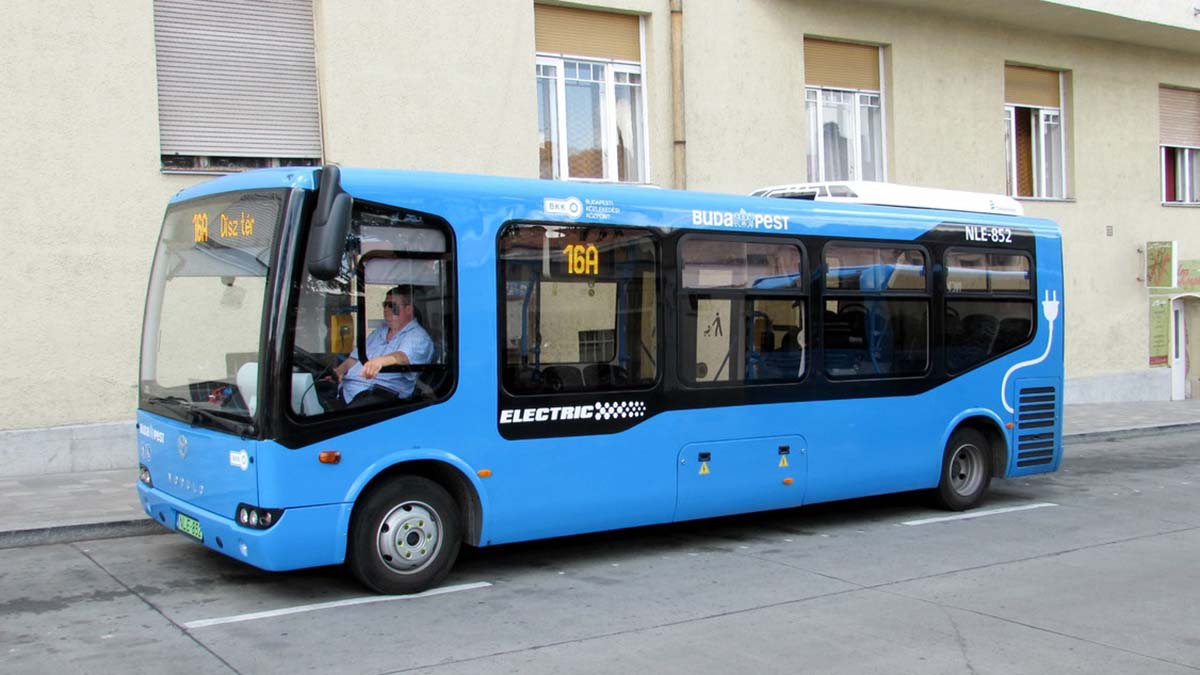 Электробусы завоевывают Венгрию