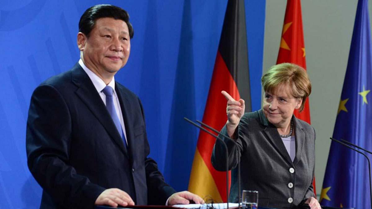 Неужели Германия слишком подружилась с Китаем
