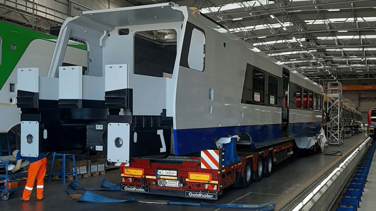 PKP Intercity переходит на поезда из алюминия