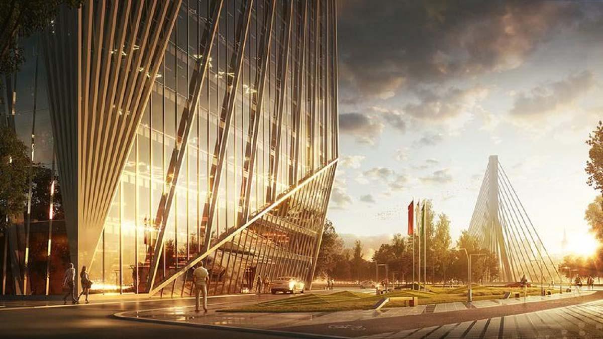В Варшаве будут строить отель 6*
