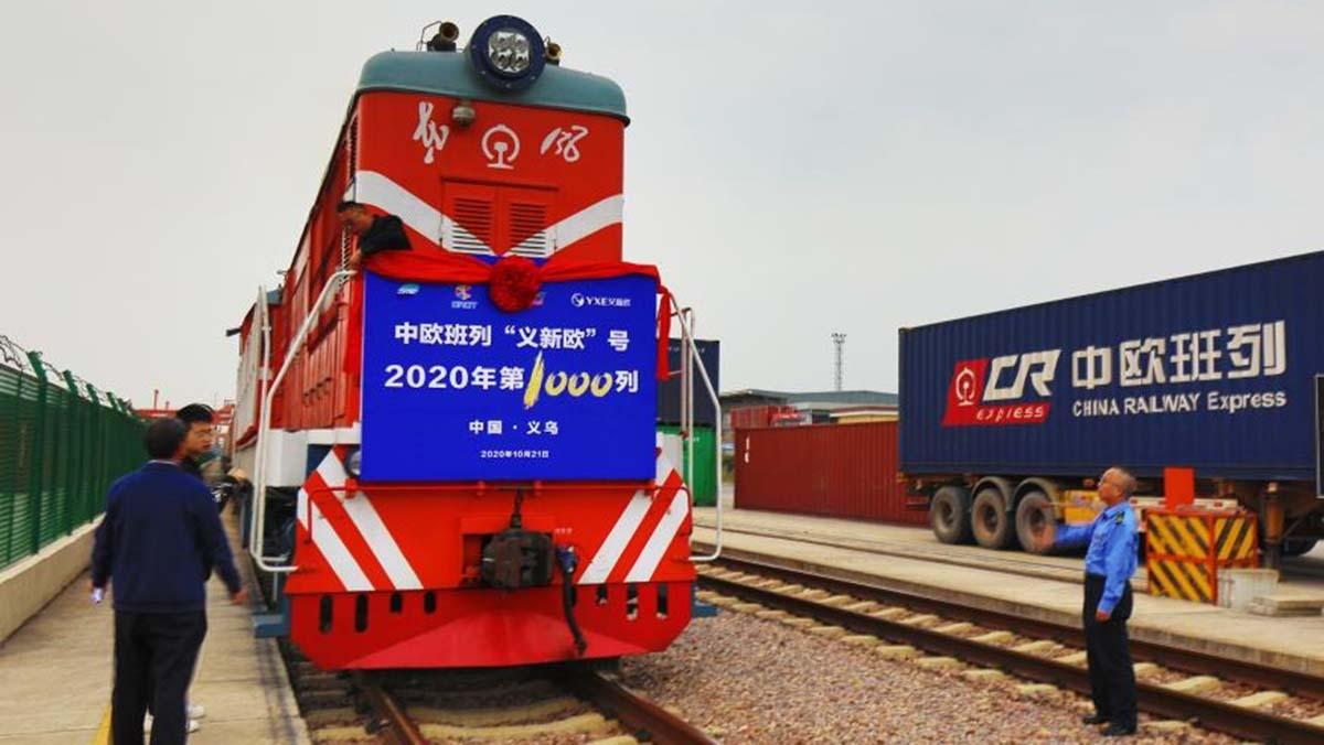 Тысяча поездов «Китай-Европа»