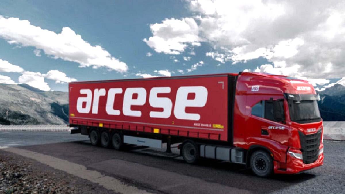 Arcese меняет ливрею