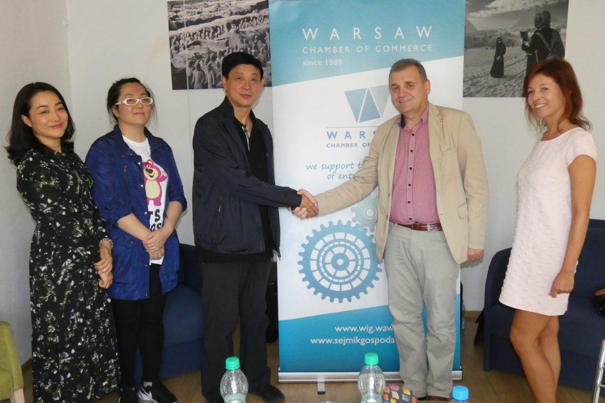 В Варшавской Торгово-Экономической Палате приняли делегацию китайской провинции Хэйлунцзян