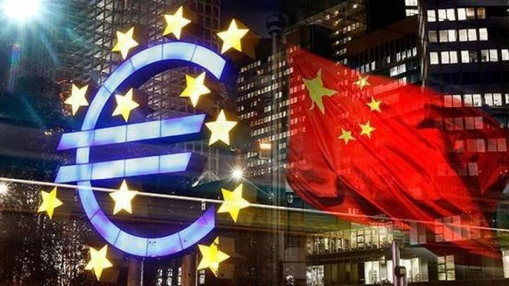 Карта китайских инвестиций в Европе