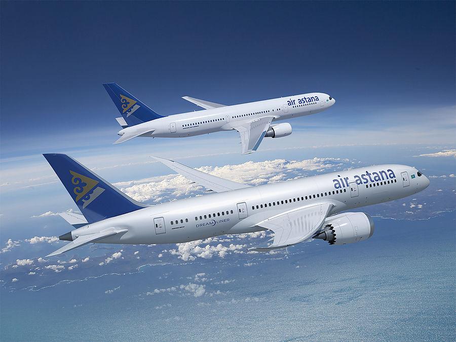 Авиакомпания «Эйр Астана» снова была признана победителем в номинации «Выбор путешественников»